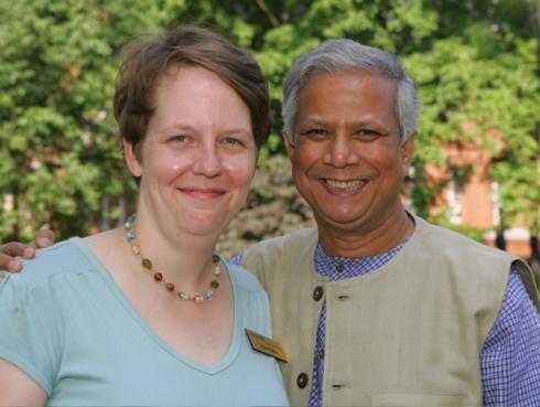 Kim and Dr. Yunus